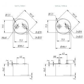 Пленочный конденсатор Nucon FB3F(M)06k43H100C