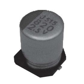Твердотельный полимерный алюминиевый конденсатор NIPPON Chemi-Con APXJ2R5ARA821MF80G, PXJ Серия